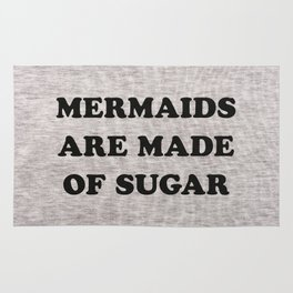 Mermaids Are Made of Sugar Rug