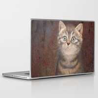 kitty Laptop & iPad Skins featuring Kitty by irshi