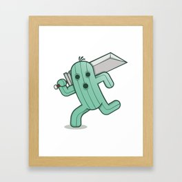 Buster-Cactuar Framed Art Print