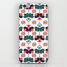 Bulgarian embroidery pattern 02 iPhone Skin