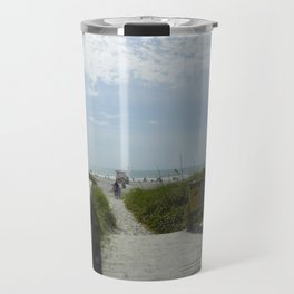 Path To The Beach Travel Mug