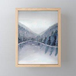 A Figment of my Winter Imagination Framed Mini Art Print