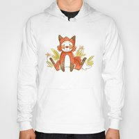 relax Hoodies featuring Relax by Pencil Box Illustration