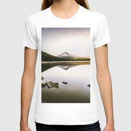 Fantastic Morning - Mount Hood Reflection T-shirt