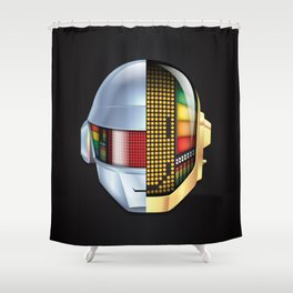 Daft Punk - Discovery Shower Curtain