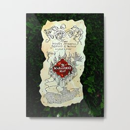 marauder's map Metal Print
