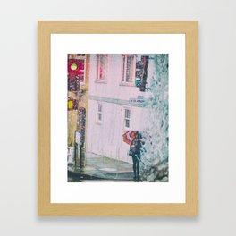 Psychedelic Rains Framed Art Print