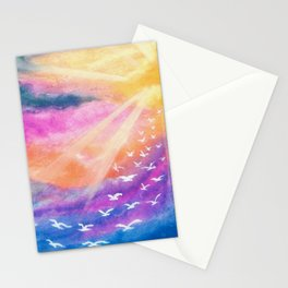 Dove Murmuration Stationery Cards