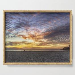 Good Harbor Beach Sunrise Serving Tray