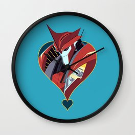 Doctor Suave Wall Clock