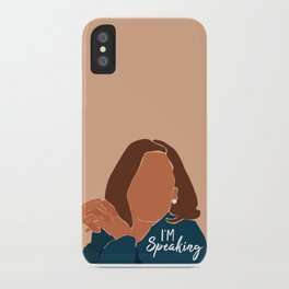 I'm Speaking iPhone Case