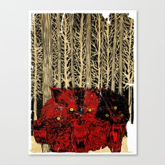 HELL WOLVES Canvas Print