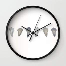 Oysters a Study Wall Clock