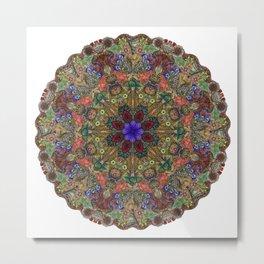 Hallucination Mandala 1 Metal Print