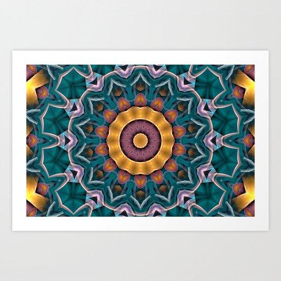 Mandala 7 Art Print