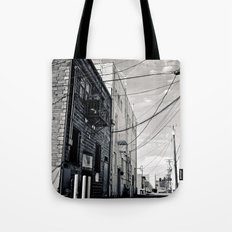 Grit city alley Tote Bag