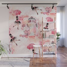 Flying fashion Wall Mural