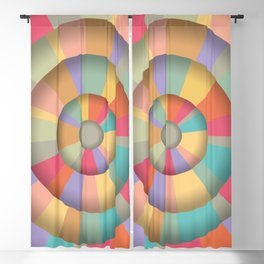 Merry Go Round Blackout Curtain
