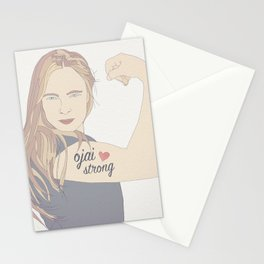 Tara is Ojai Strong Stationery Cards