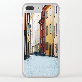 Stockholm II Clear iPhone Case