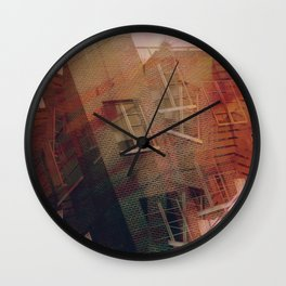 crushed Wall Clock