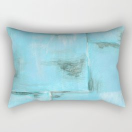 Frost, Abstract Art Painting Rectangular Pillow