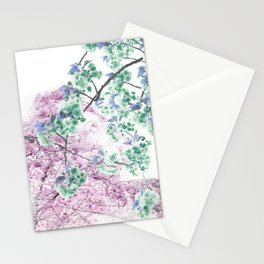 Find Me Among Blossoms Stationery Cards