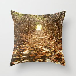 Seagrape Trail Throw Pillow