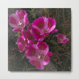 A Farewell to Spring Pink Floral Photography Print Metal Print