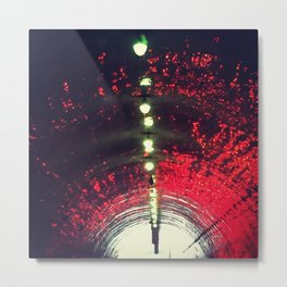 Third Street Tunnel Metal Print