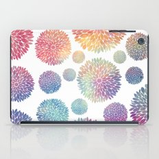Watercolor Flowers iPad Case