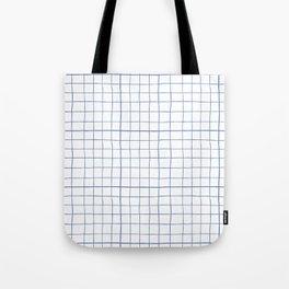 Graph paper Tote Bag