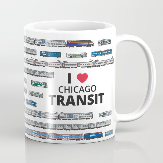 The Transit of Greater Chicago Mug
