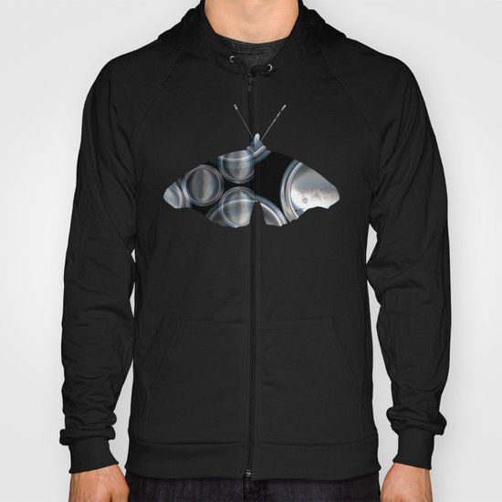 Metal Can Butterfly Collage Hoody