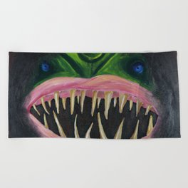 Ocean Angler Beach Towel