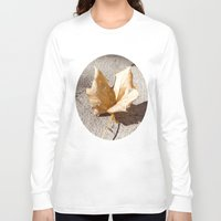 leaf Long Sleeve T-shirts featuring leaf by Deviens