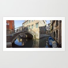 italy - venice - widescreen_654-657 Art Print