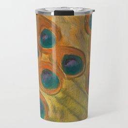 Pride of the Peacock Travel Mug