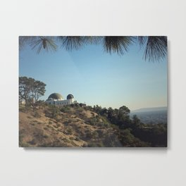 overlook the city Metal Print