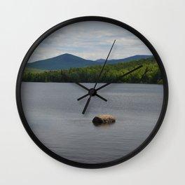 Day at the Lake Wall Clock