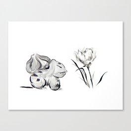 Lotus Flower Pocket Monster Canvas Print