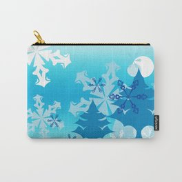 Winter Tree Holiday Carry-All Pouch