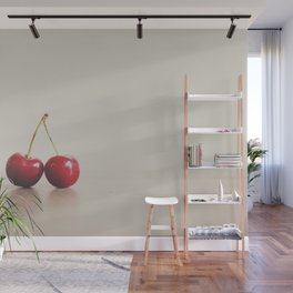 a double cherry photograph Wall Mural