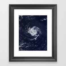 weather Framed Art Print