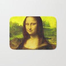 Mona Lisa's Haze (yellow) Bath Mat