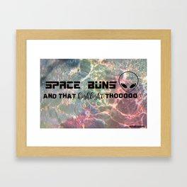 Space BUNZ Framed Art Print