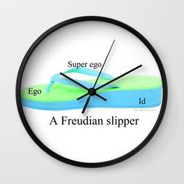Freudian Slipper Wall Clock