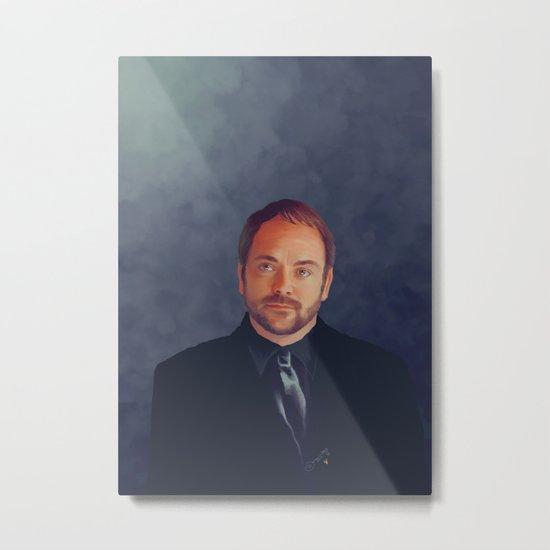 Crowley - Supernatural Metal Print