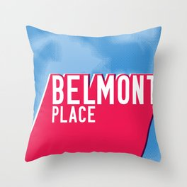 Belmont Place Throw Pillow