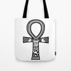 Tangled Ankh Tote Bag